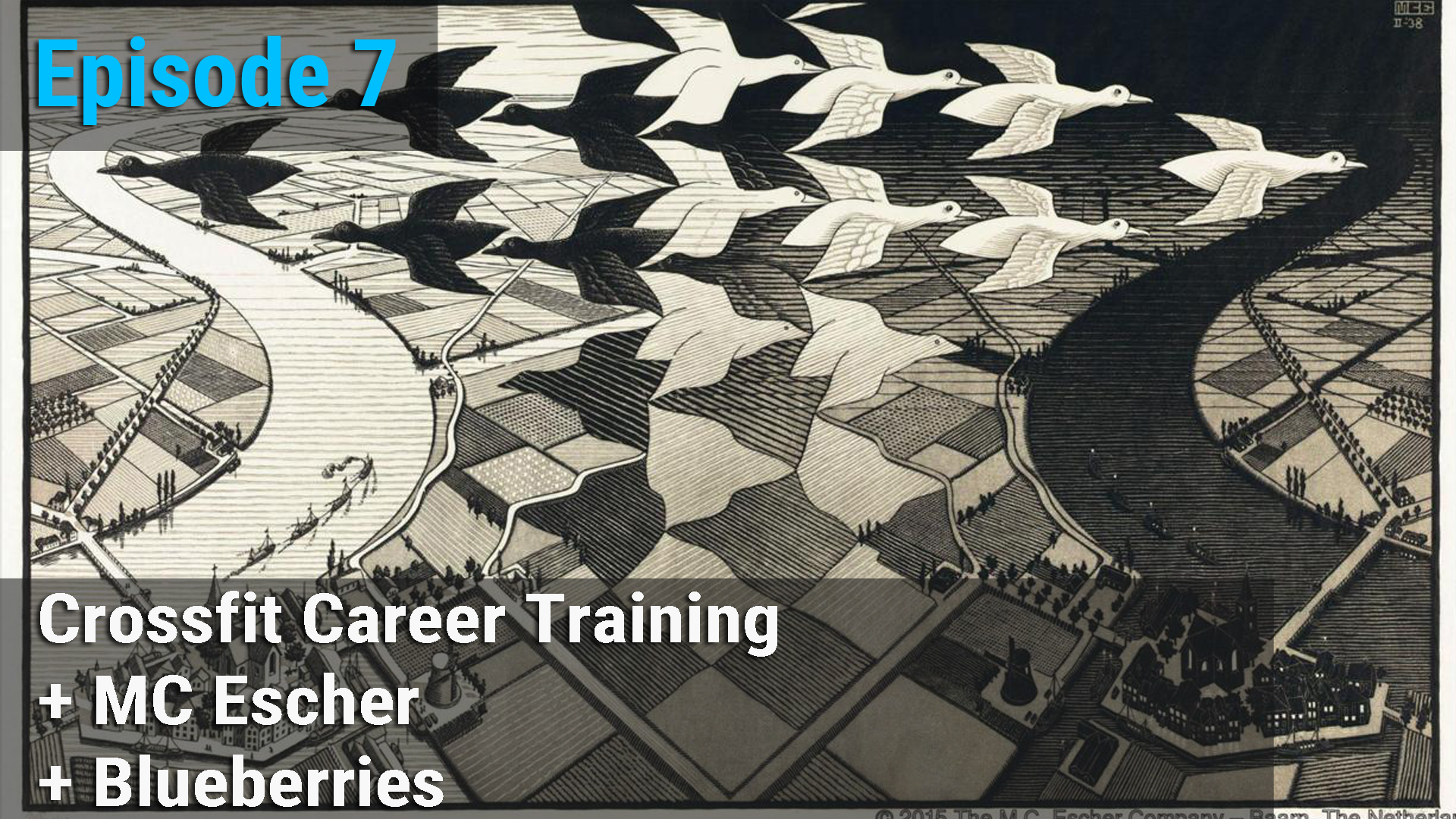 Crossfit Career Training + MC Escher + Blueberries